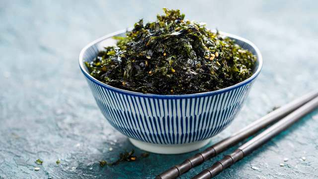 Nori seaweed benefits: a food of great nutritional value.