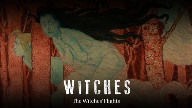 The witches' flights