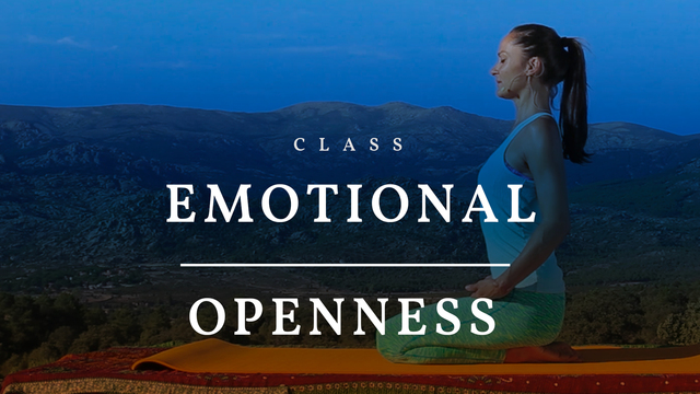 Emotional openness