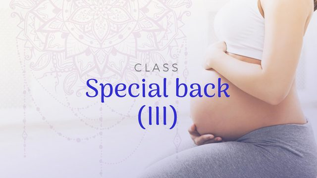 Class 8: Special back III